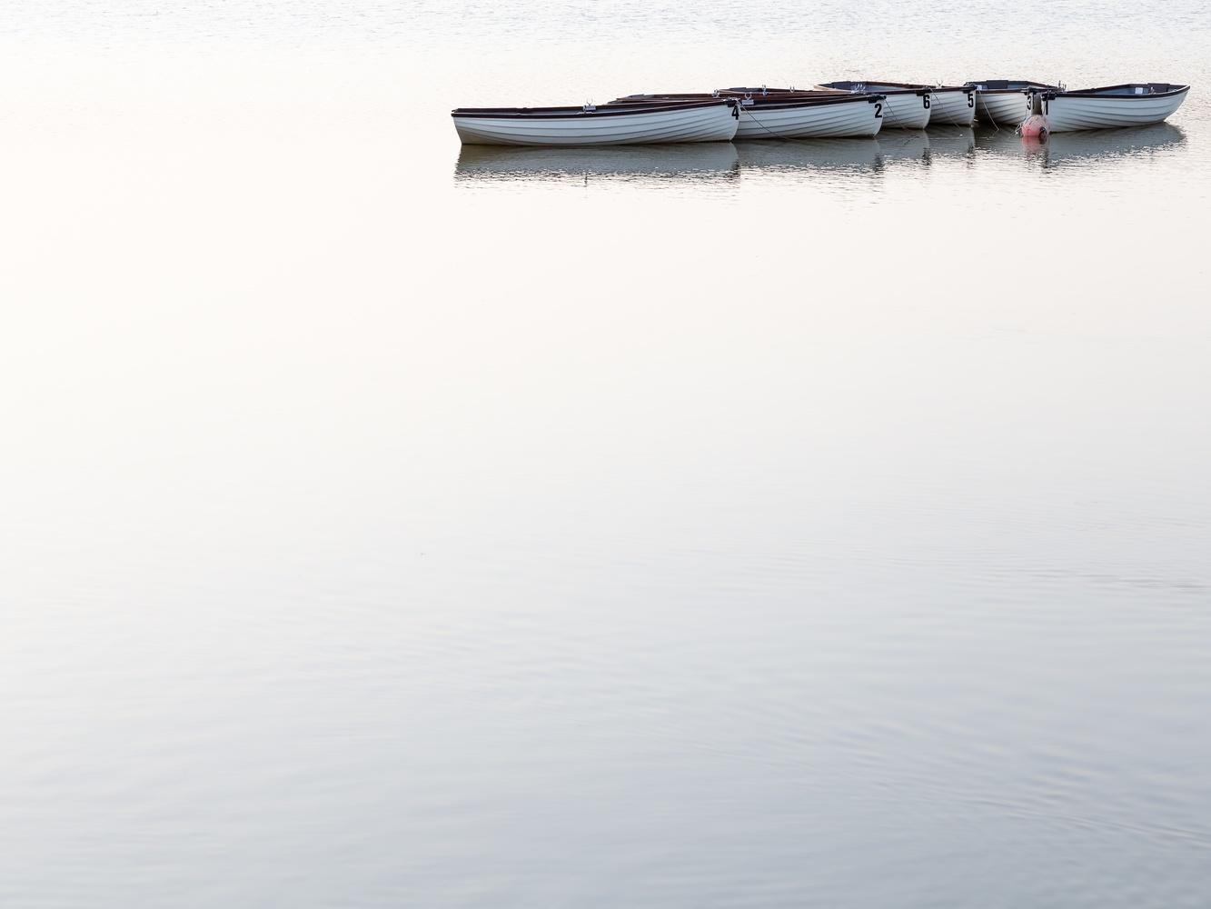 Serene Lake by Alan Godfrey