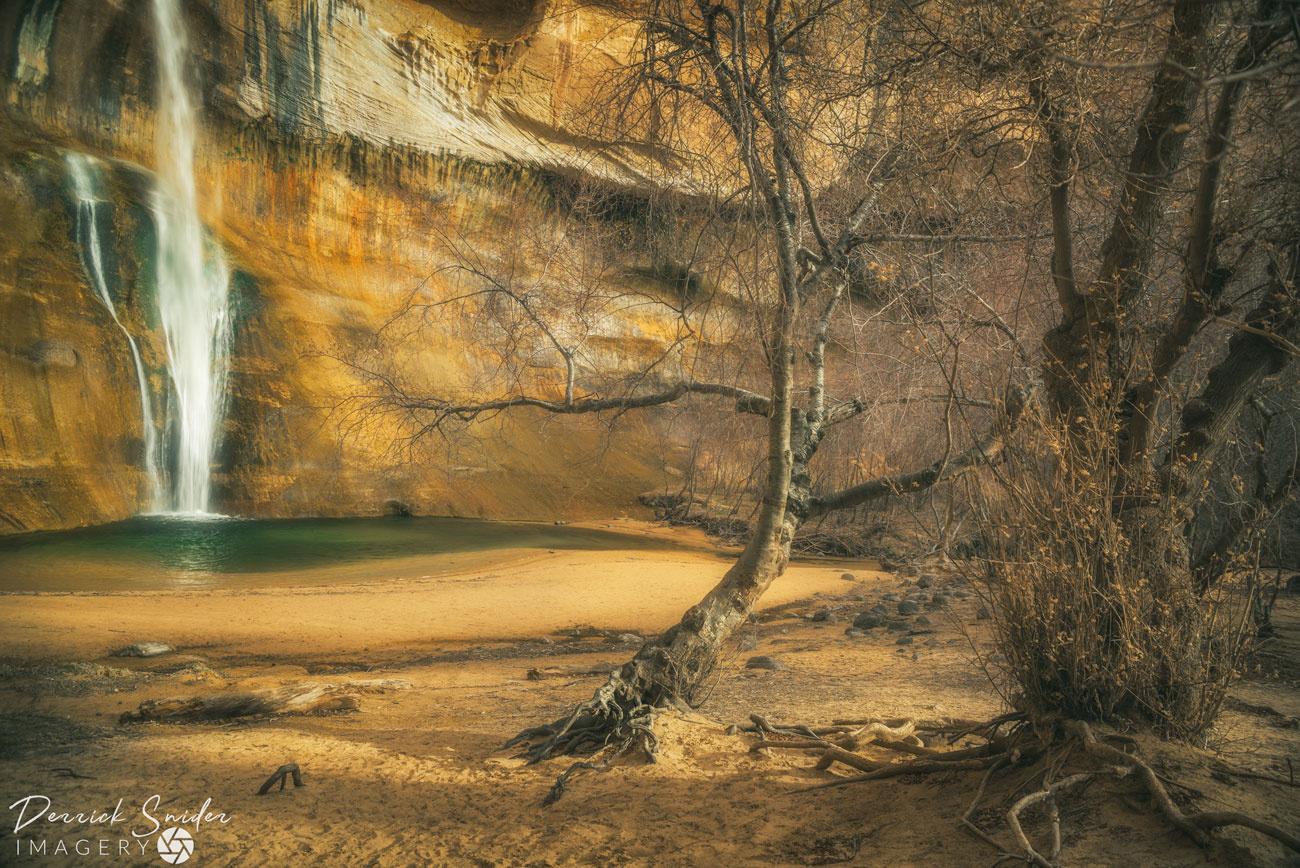 Calf Creek Glow by Derrick Snider