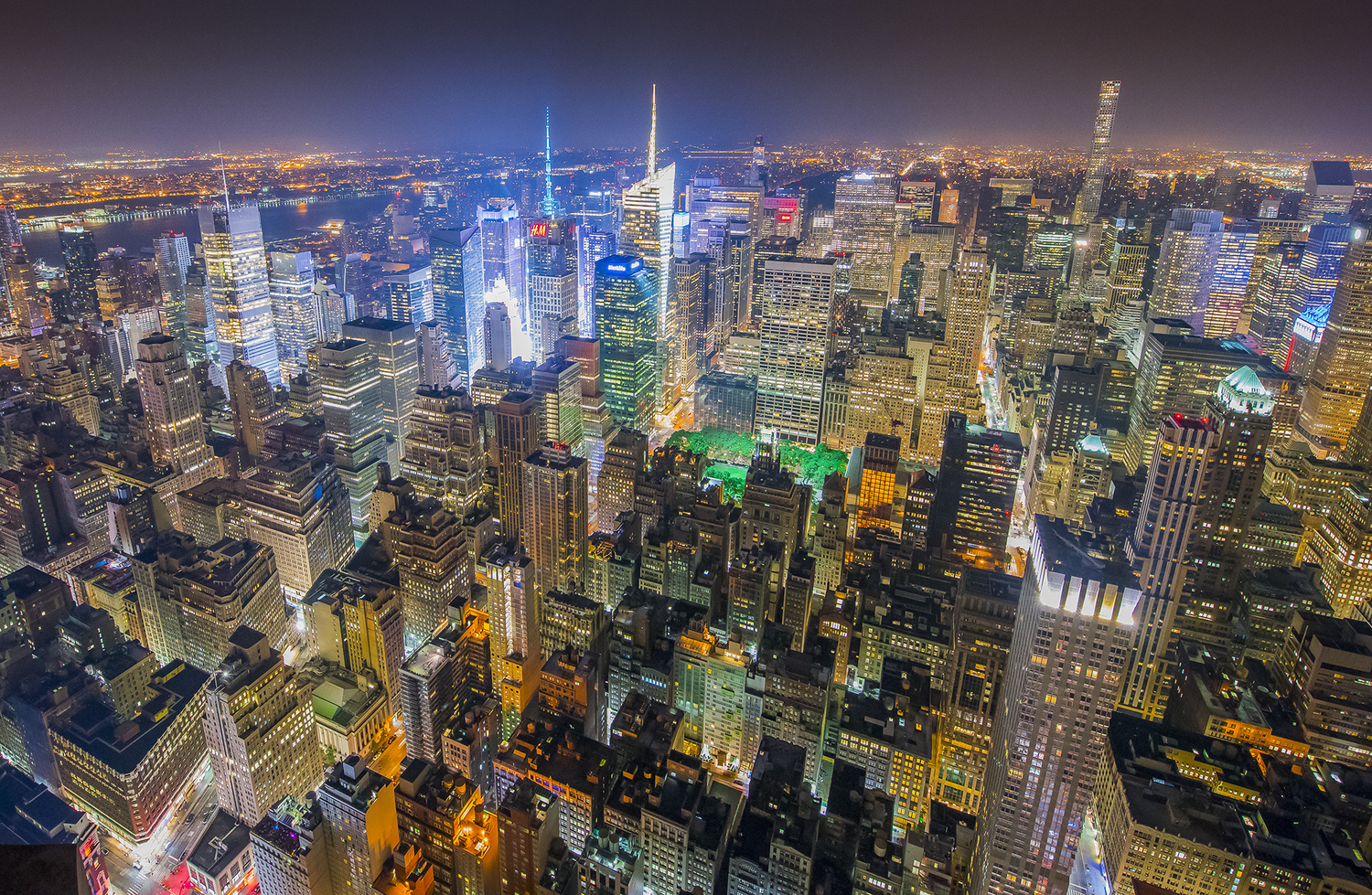 New York HDR by Andrew Coley