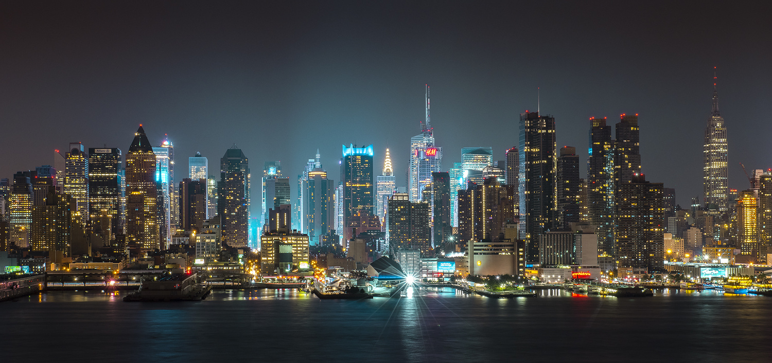 Manhattans Glow by Andrew Coley