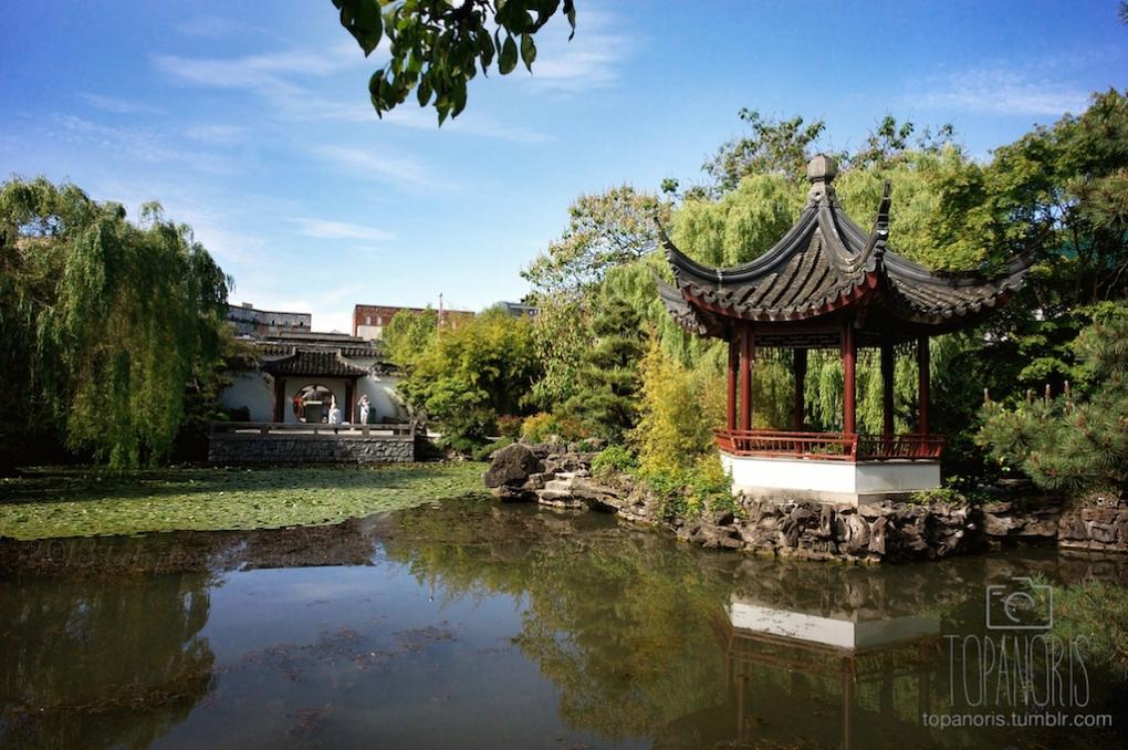 asian architecture by Michael Topanoris