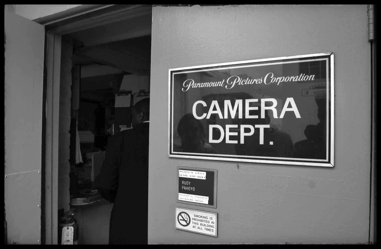 Camera Dept. by Yves Van den Meerssche