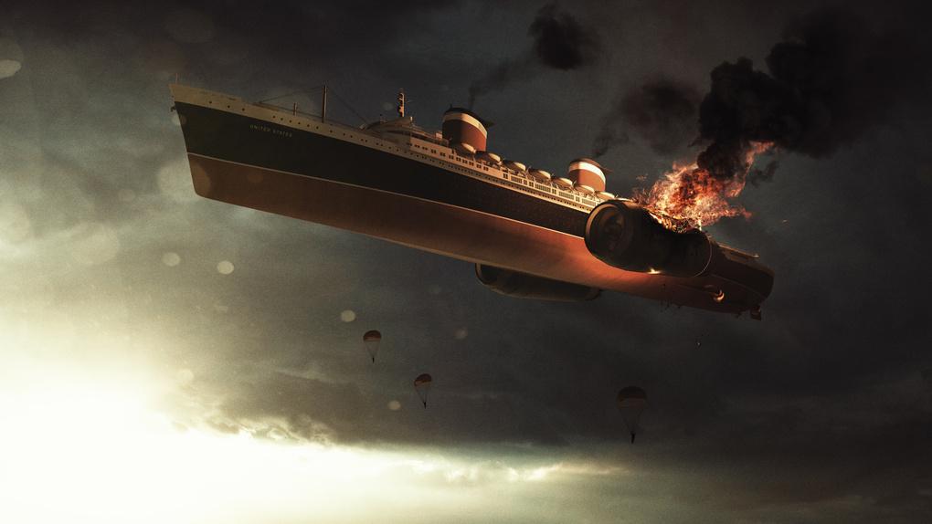 Shipwreck by Lorenzo Invernici