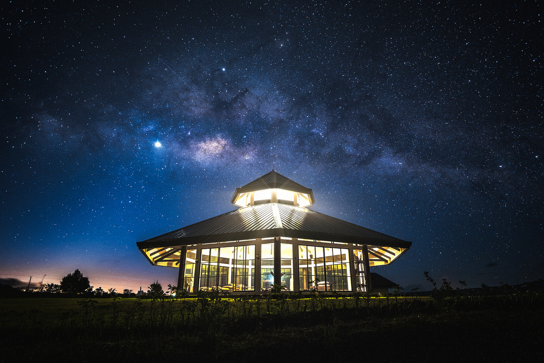 Galactic Gazebo by John Kimwell Laluma