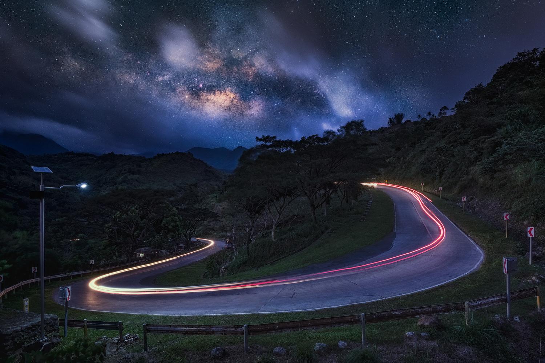 Galactic Bend by John Kimwell Laluma