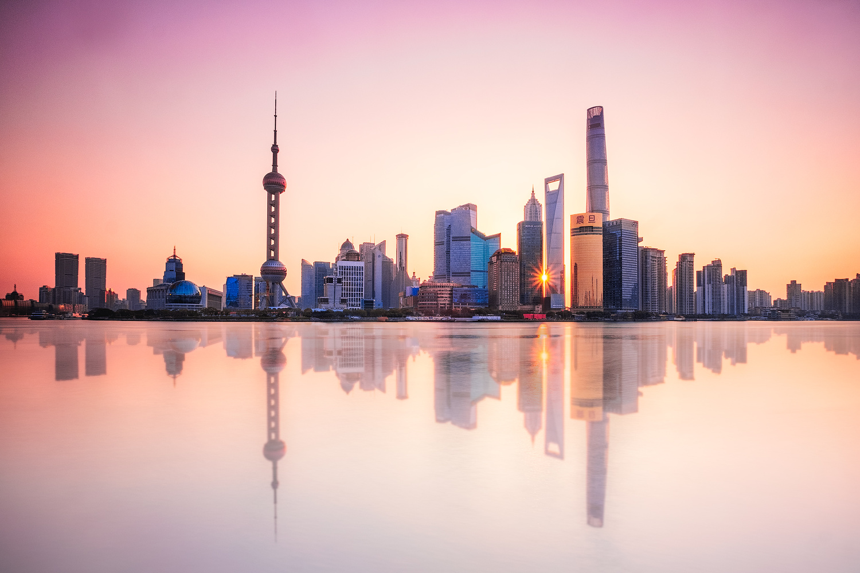 Shanghai Sunrise by John Kimwell Laluma