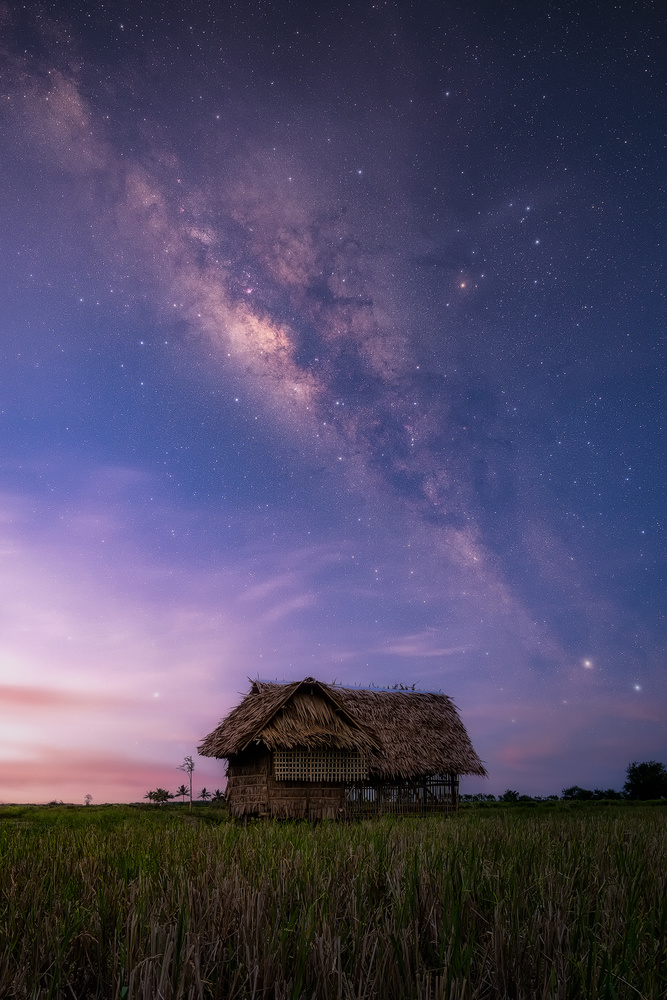 Milky Way Twilight by John Kimwell Laluma