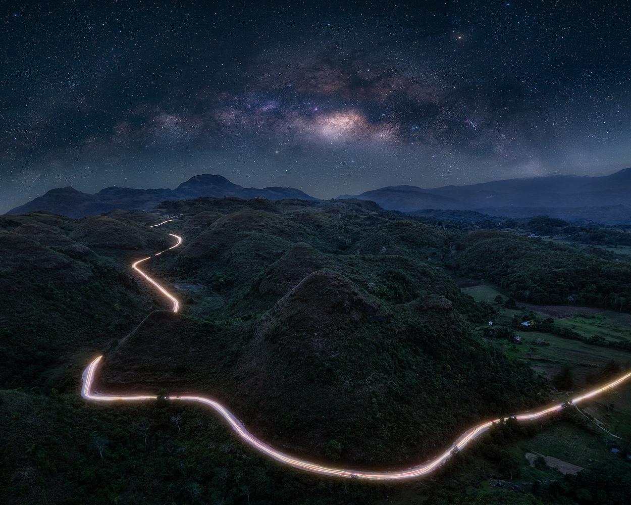 Mystical Hills of Hinakpan by John Kimwell Laluma