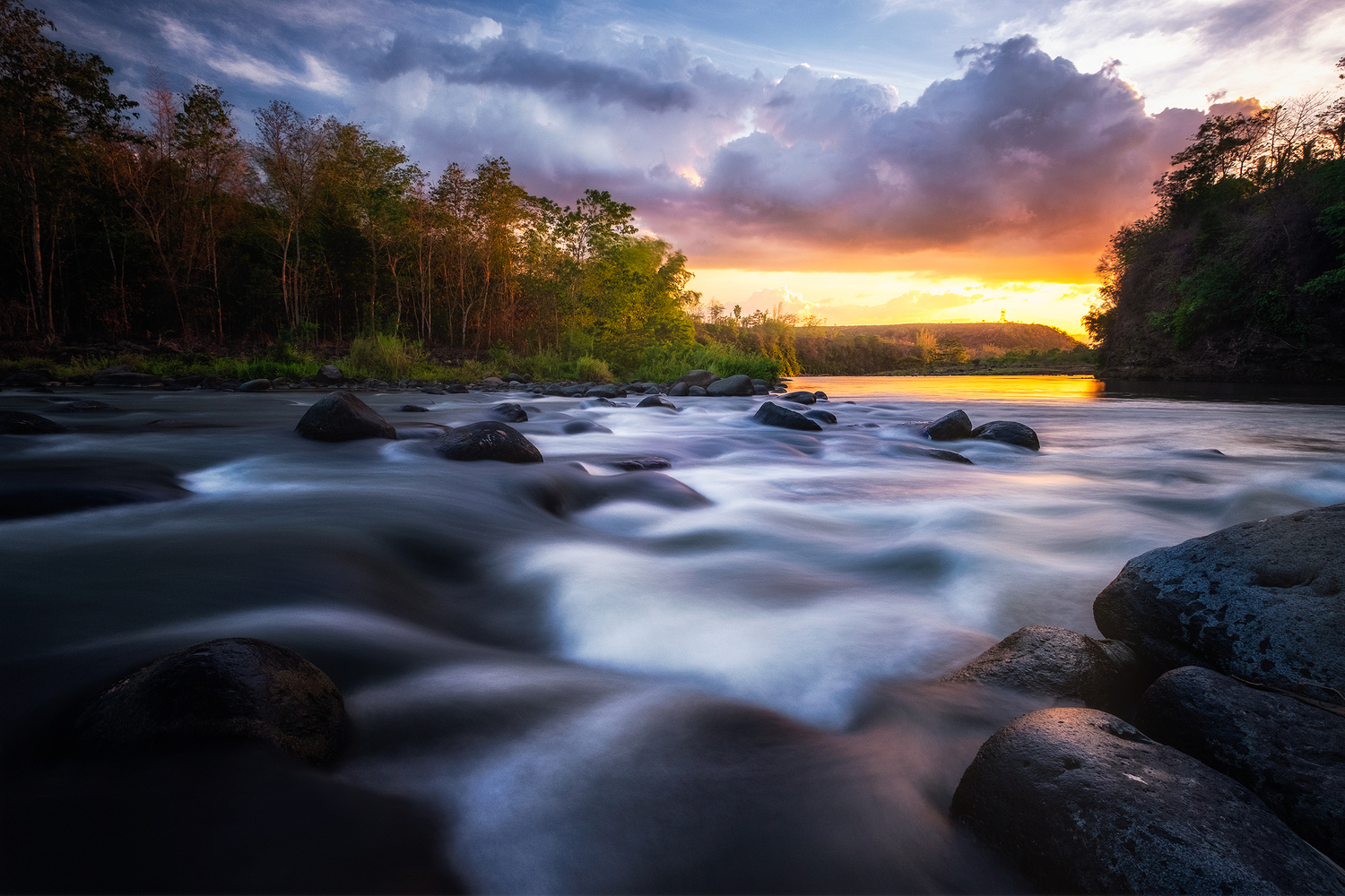 Light at the End of the River by John Kimwell Laluma