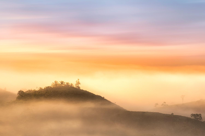 Misty Mountains by John Kimwell Laluma