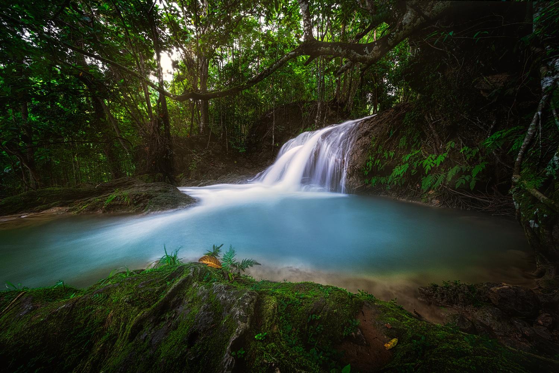 Magical Falls by John Kimwell Laluma