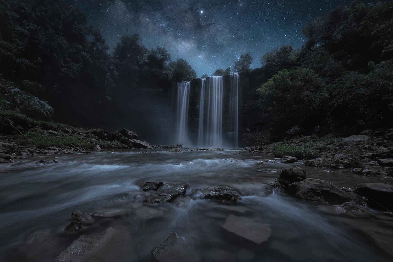Niludhan Falls by John Kimwell Laluma