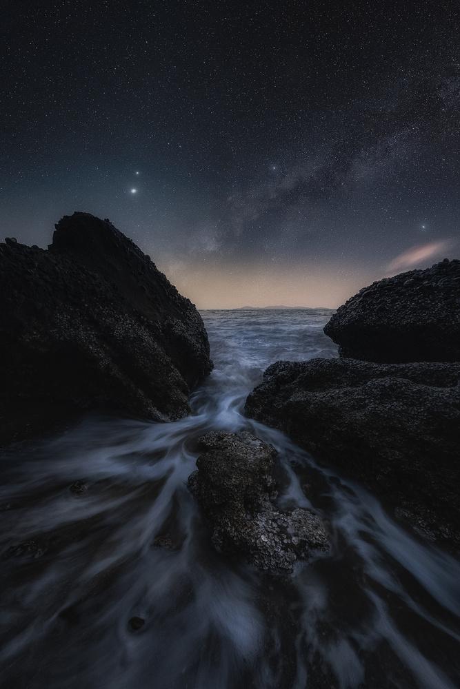 Ebb and Flow by John Kimwell Laluma