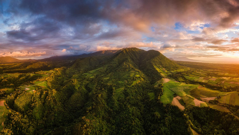 Sunset Up High by John Kimwell Laluma