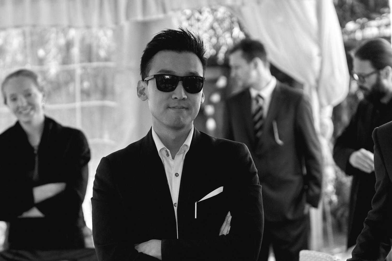 Korean boy by Dorin Andreescu