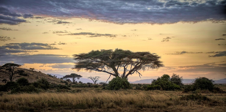 An African sunset by Ram Ramkumar