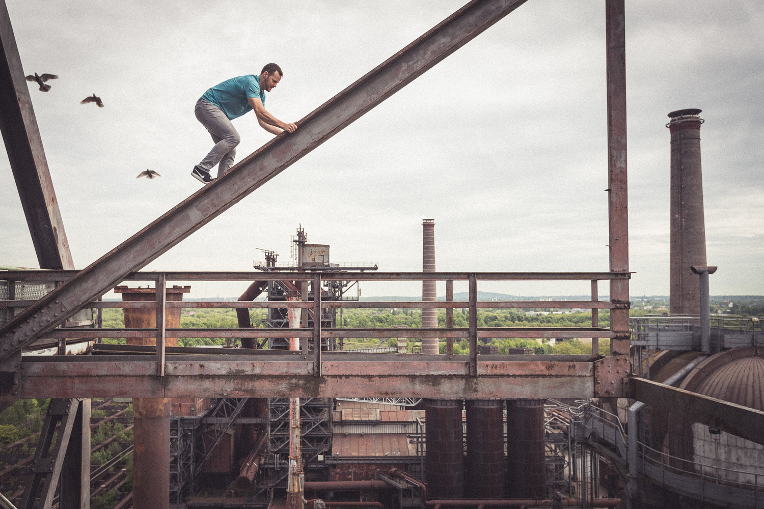 Landschaftspark Duisburg-Nord by Andy Day