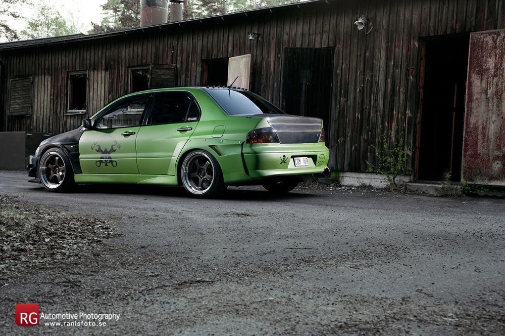 Mitsubishi Evo 8 Voltex by Rani Giliana