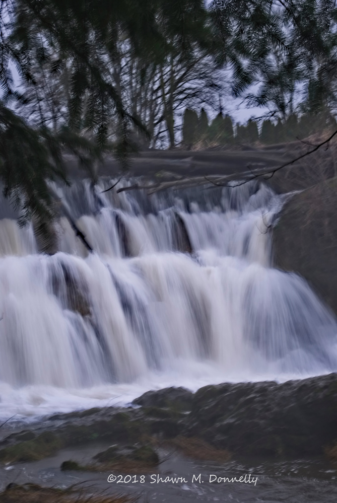 Tumwater Falls by Shawn Donnelly