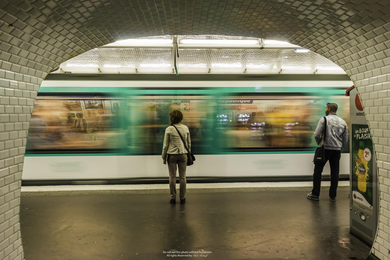 Paris Metro  by Monssif CHRIT