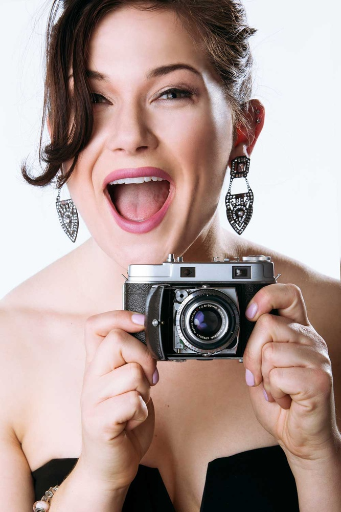 Photographer portrait. by Aaron McGrane