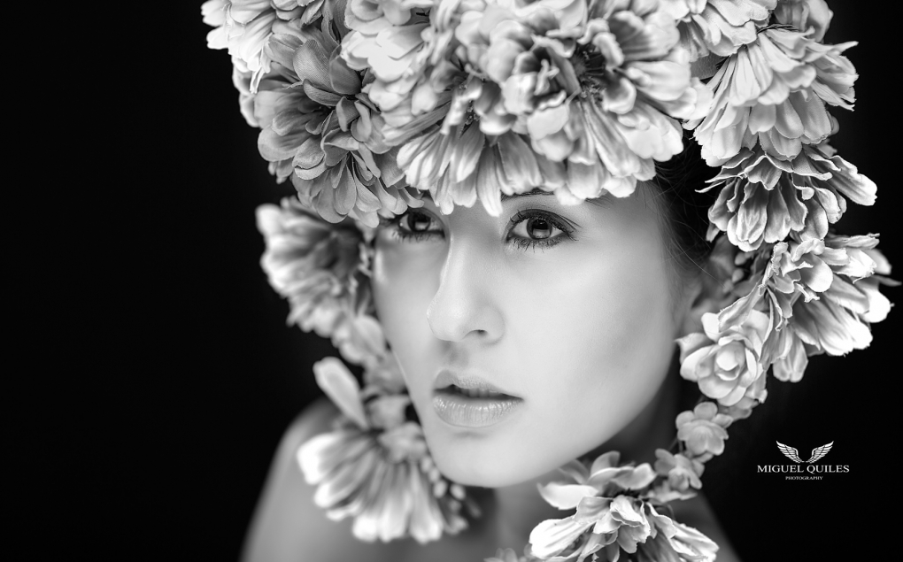 Flower Queen by Miguel Quiles