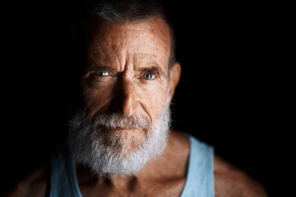 Dramatic Beard (Sony A7II) by Miguel Quiles