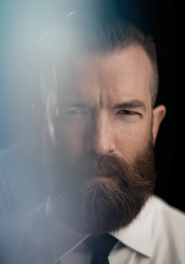 Dramatic Portrait Jeff B by Miguel Quiles