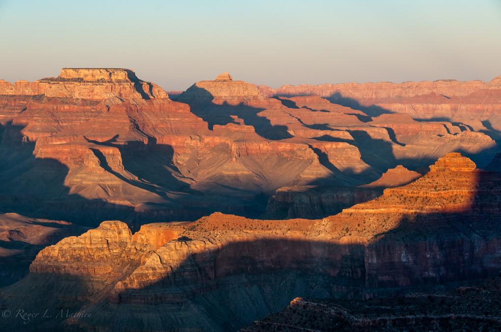 Grand Canyon Sunset by Roger Mathieu