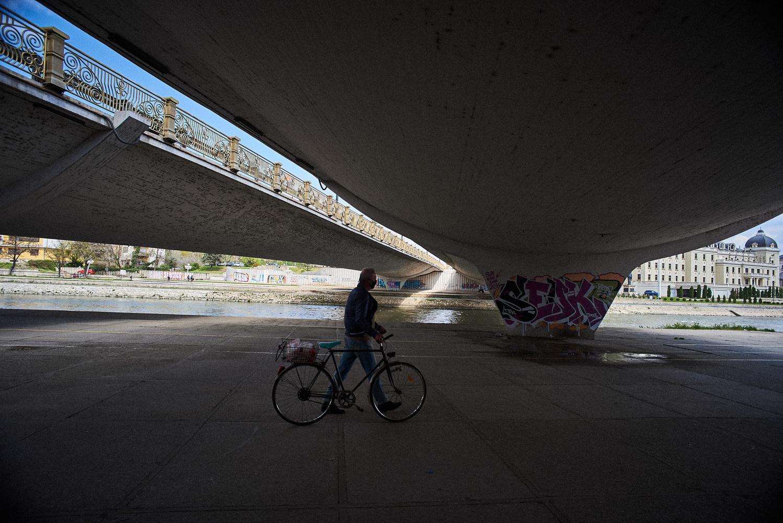 Under bridge by Ivo Veljanov