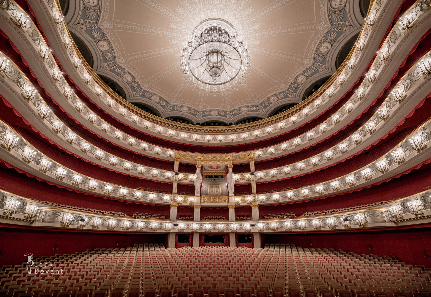 Nationaltheater (National Theatre) interior by Jack Devant