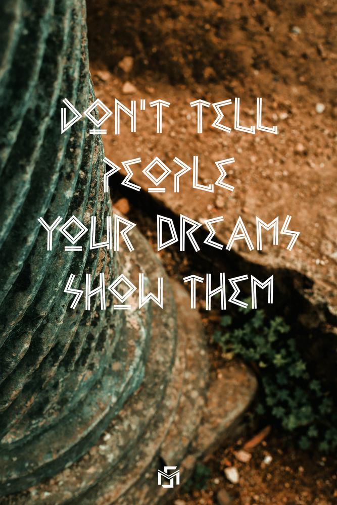 your dreams by moncef santos