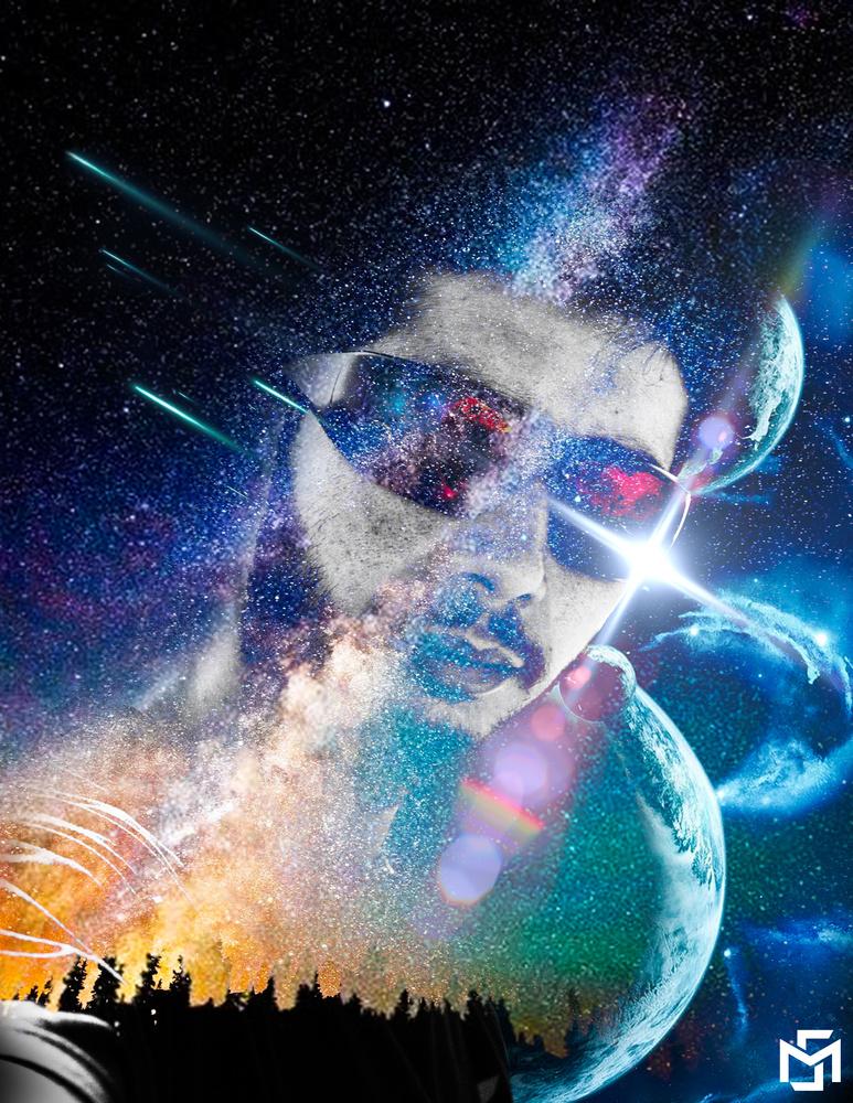 moncef cosmos double exposure by moncef santos