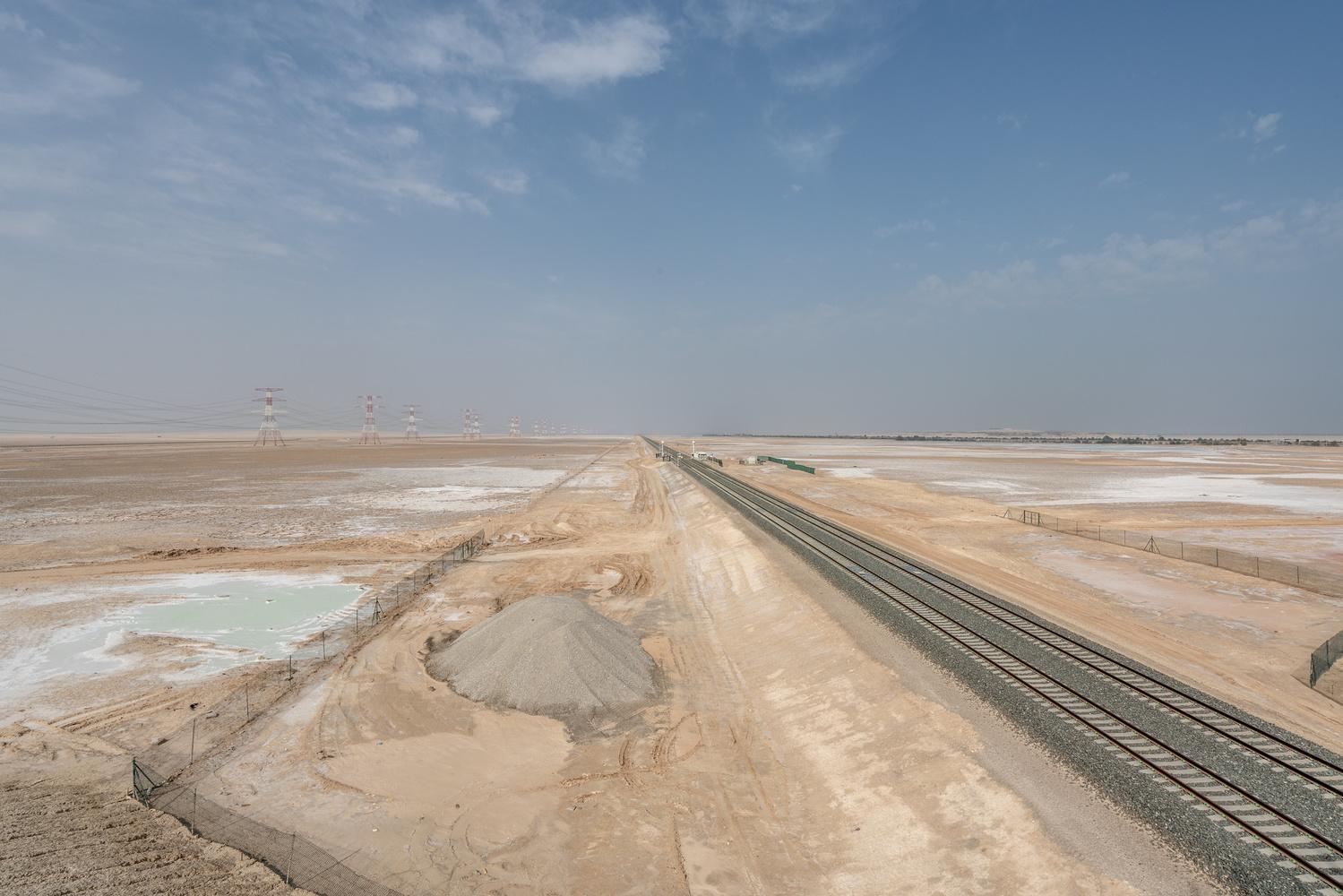 Emirati Rail by Daniel Simon