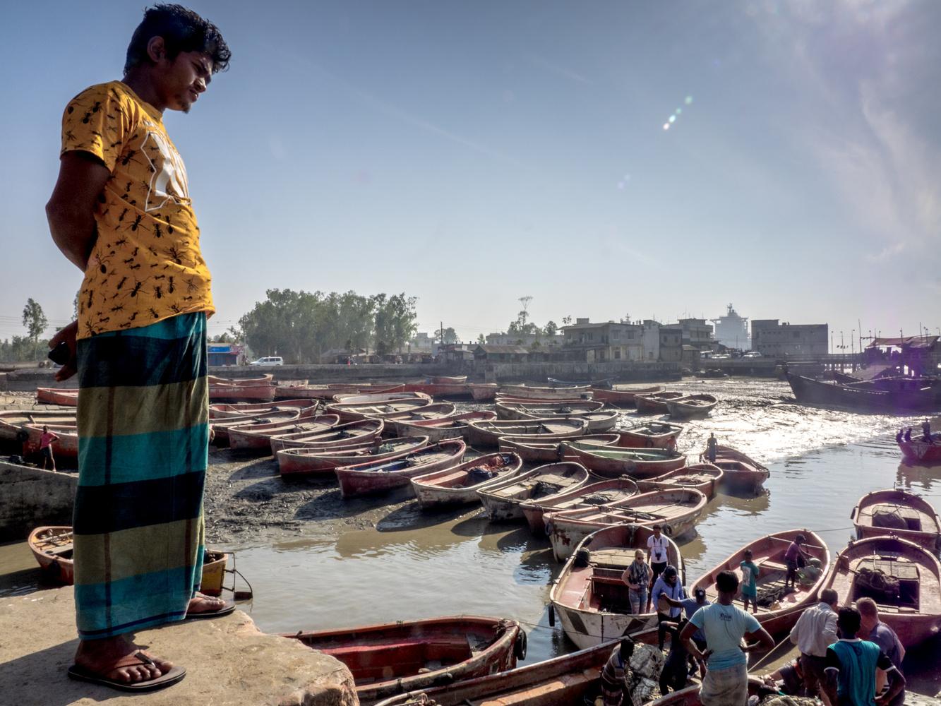 Ship Graveyard, Bangladesh by Daniel Simon