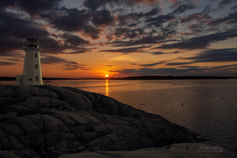Peggy's Cove, Nova Scotia, Canada by Leon Kolenda