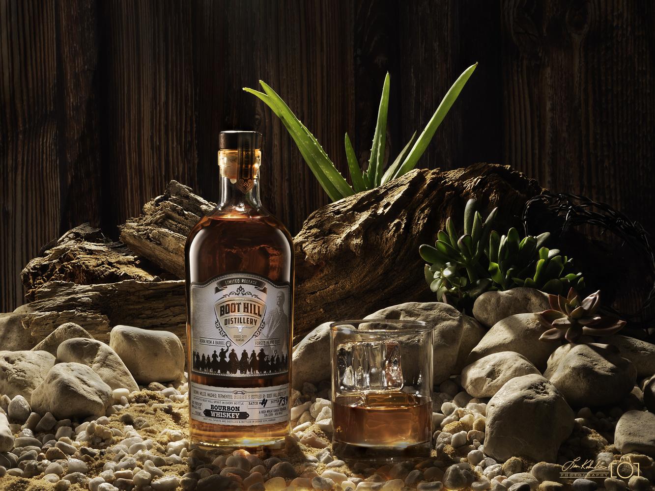 Boot-Hill Distillery Whiskey by Leon Kolenda