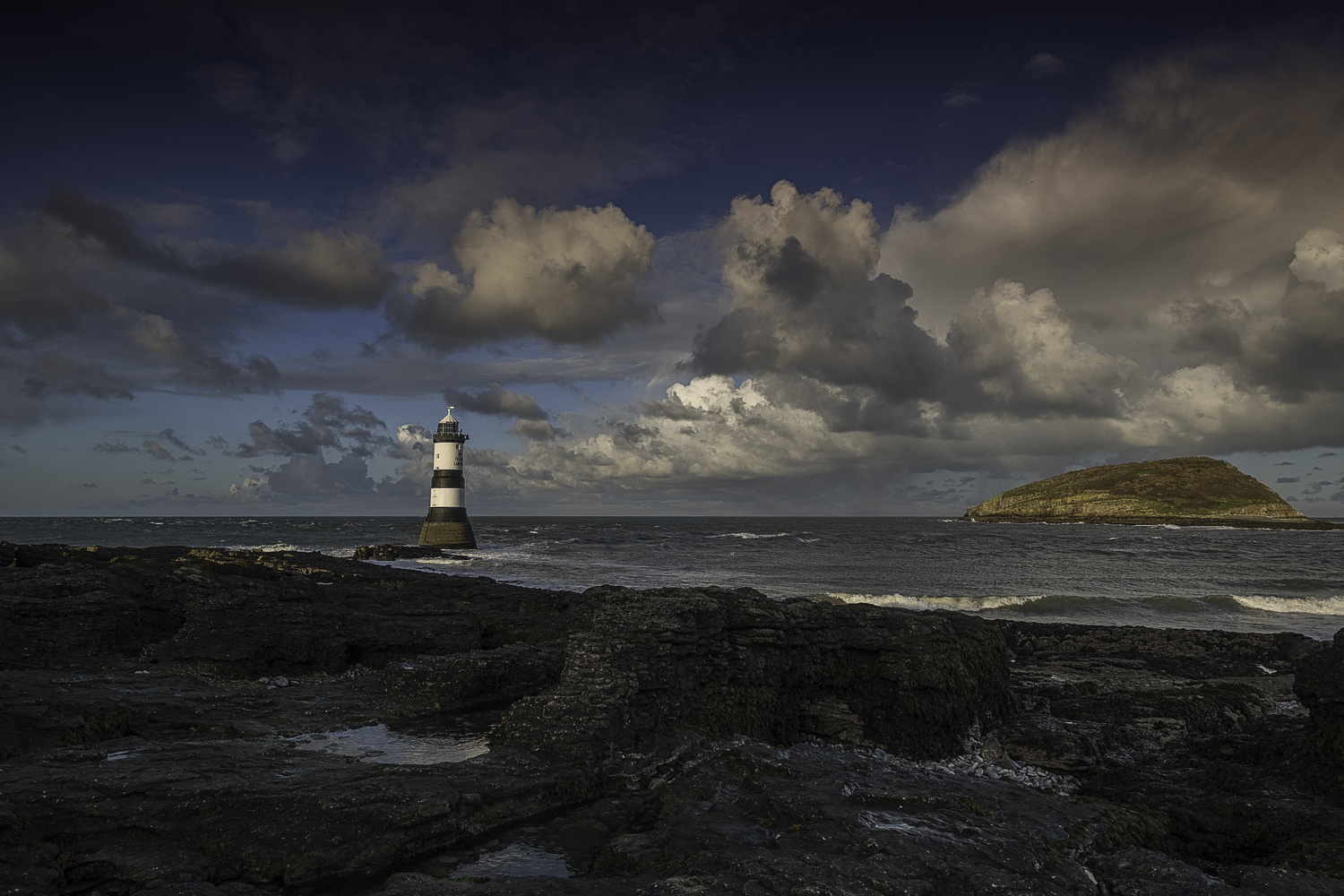 Penmon Lighthouse by Alison Bailey