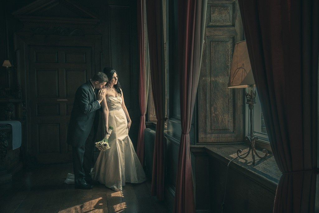 Cinematic wedding by Alison Bailey