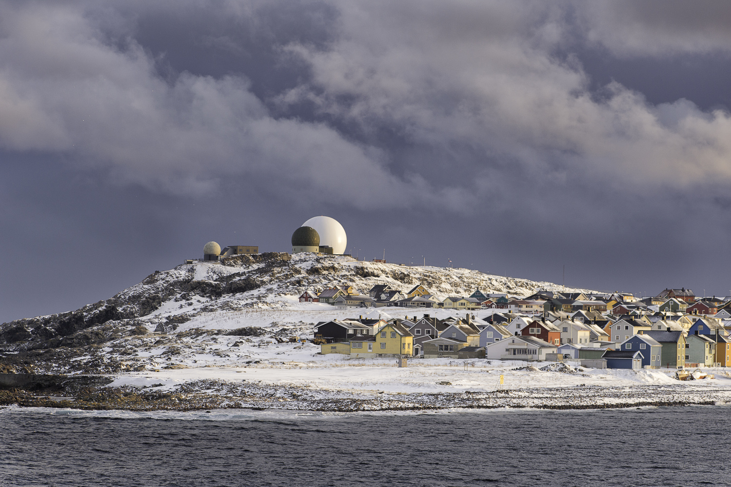 Norways largest telescope by Alison Bailey