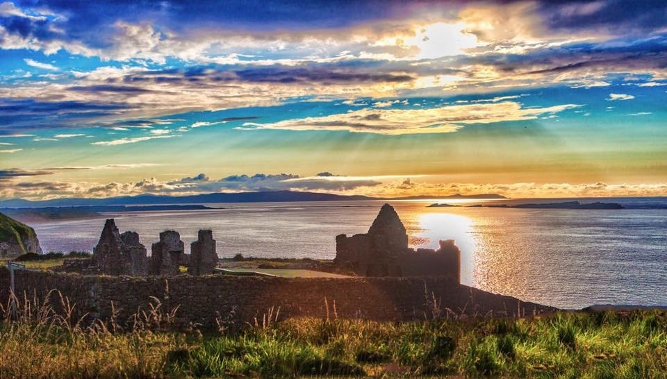 Dunluce Castle Iteland by Jim McConnell