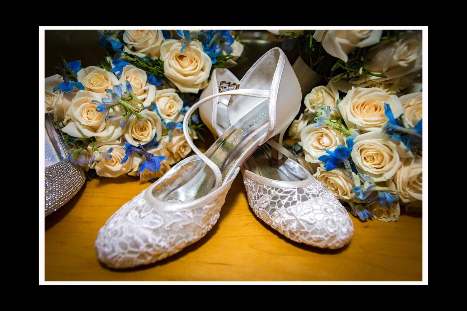 Wedding Shoes details  by Jim McConnell