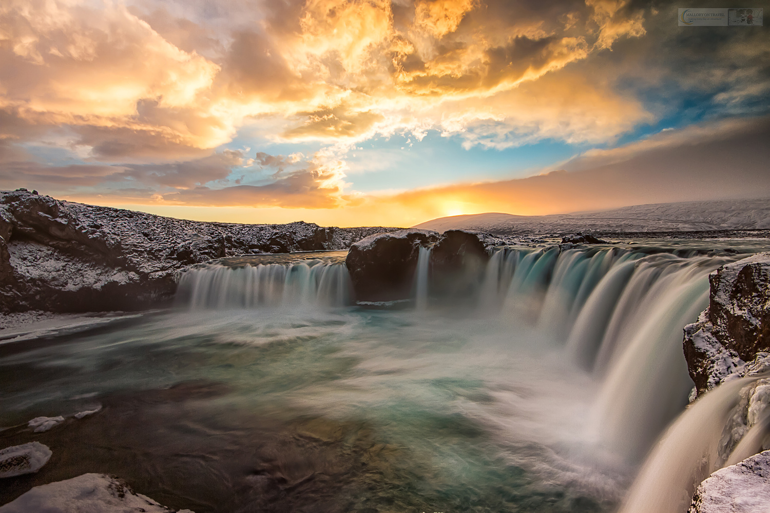 Waterfall of the Gods by Iain Mallory
