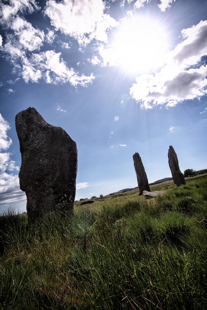 Standing Stones (Arran) by David Ross