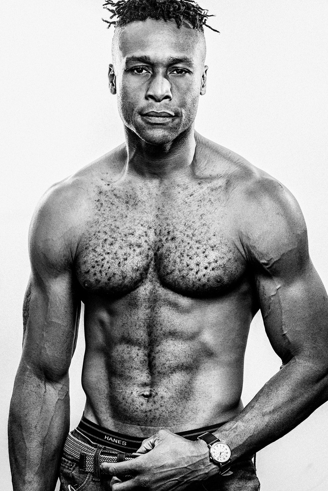 Male Portrait by Justin Ellis Johnson