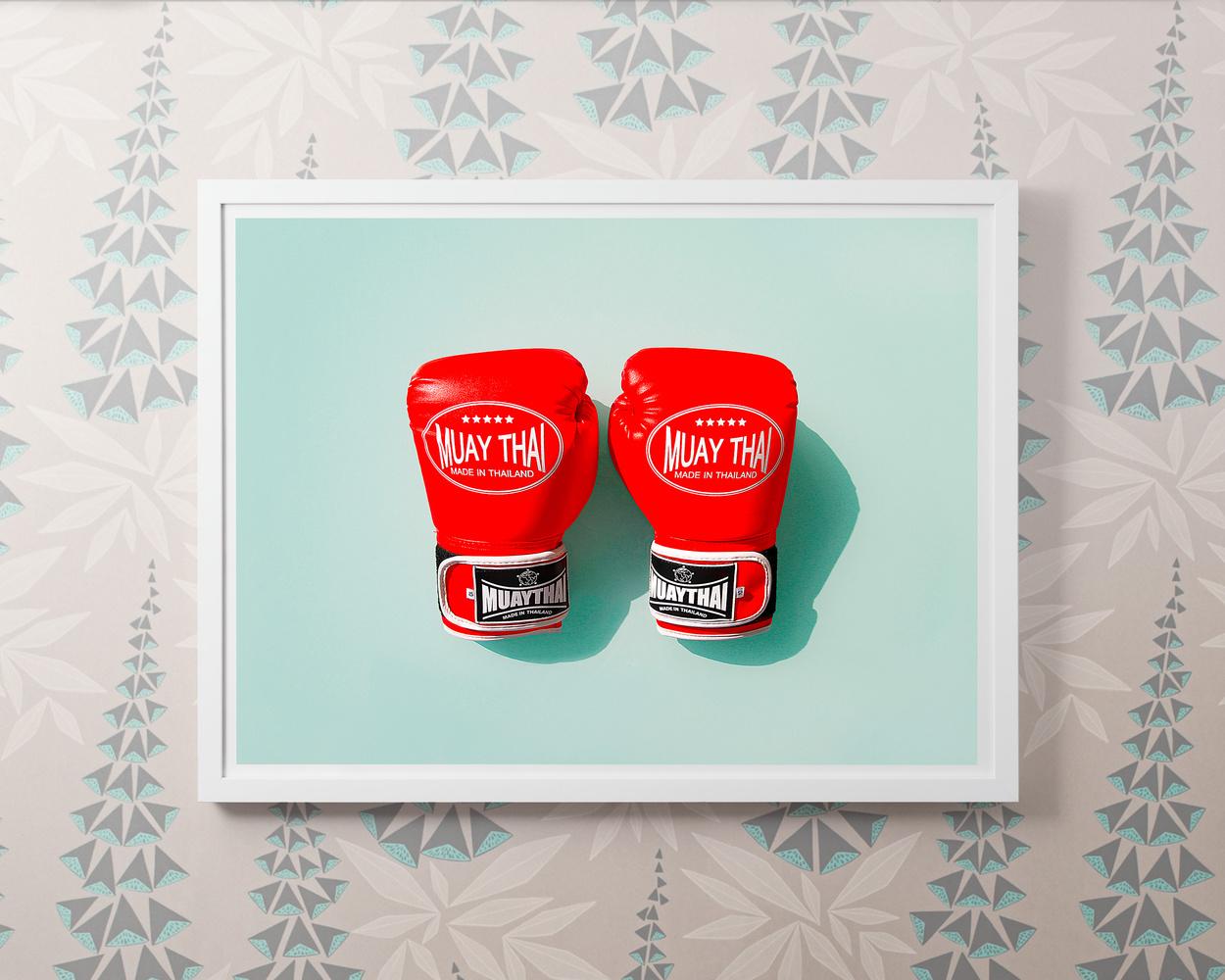 Boxing Gloves by Josh Koll