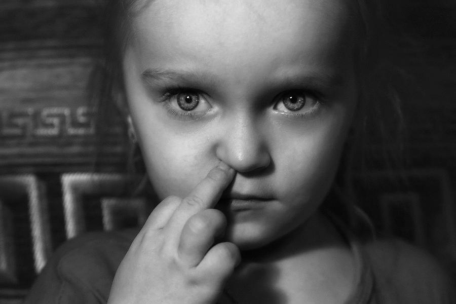 Mysterious childhood by Sergey Goyshik