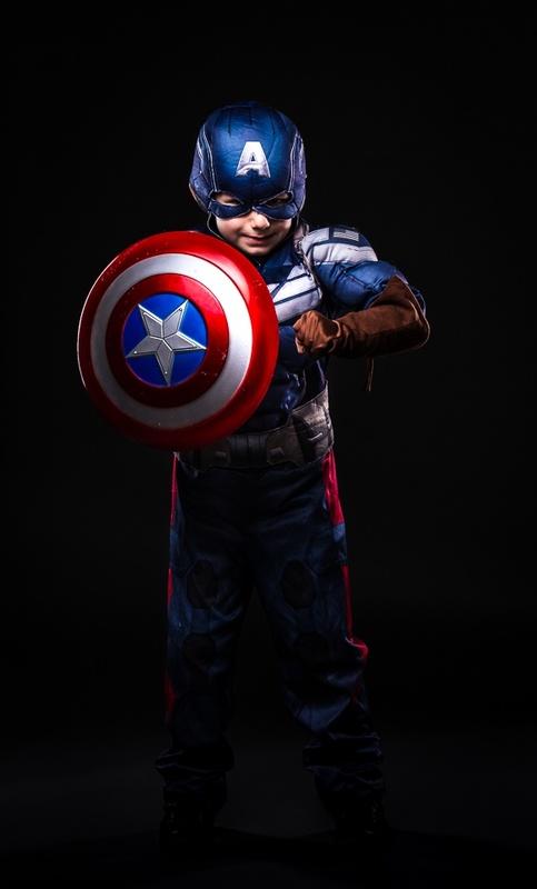 Captain America Jr. by Randall B