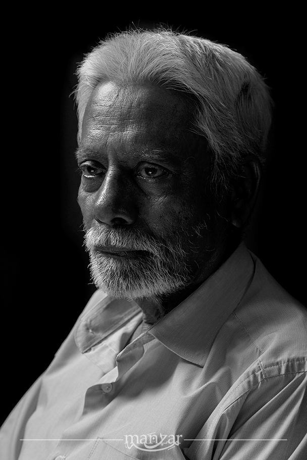 Father Portrait  by Faisal Ahmed