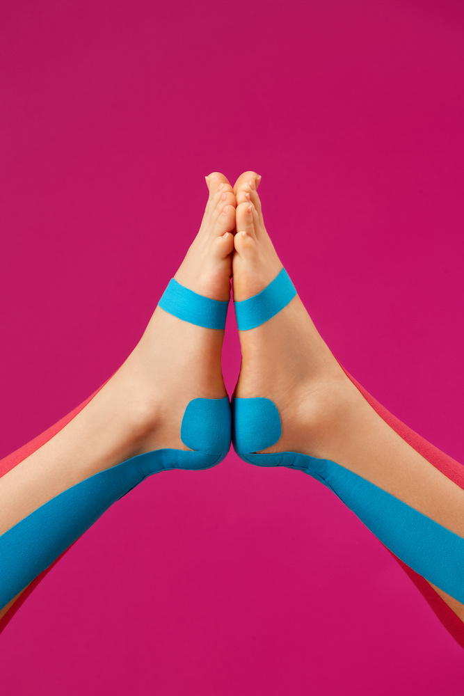 Keep calm and do your yoga at home by Alexander Khokhlov